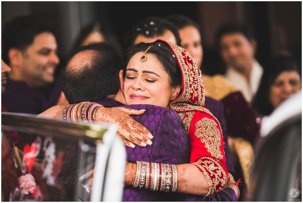 New Jersey Indian Wedding Photographer Hilton Parsippany Ceremony Vidai