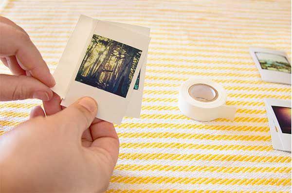 Miniportfólio feito à mão