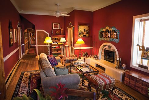 Southwestern Interiors  Google Search  Living Room Colour Pleasing Southwestern Living Room Design Decoration