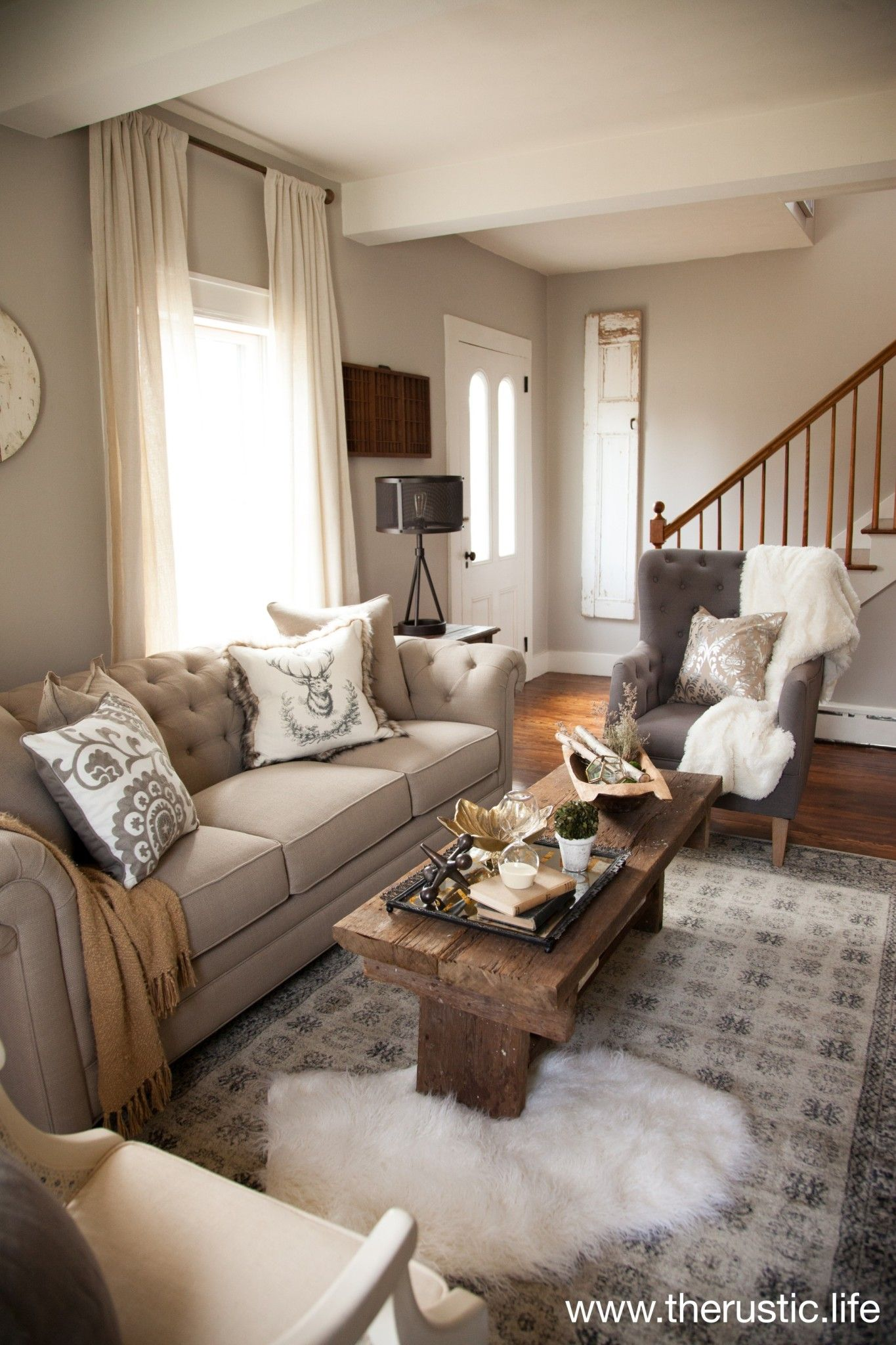 rectangular living room ideas on our formal living room makeover reveal with raymour and flanigan the rustic life rectangular living rooms rectangle living room formal living rooms our formal living room makeover reveal