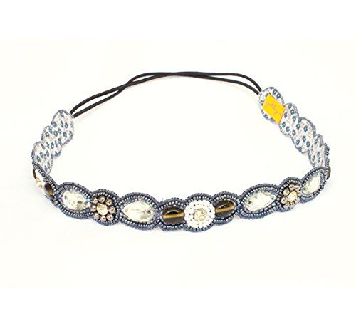 Zibby's-Soft embellished headband; stretch hairband, Crystal, Beaded and Handmade, Excellent Finish - For Women-40% Off Zibbys http://www.amazon.co.uk/dp/B00LZSY8FE/ref=cm_sw_r_pi_dp_U9b-ub00XSD0N