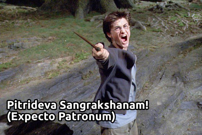 20 Epic Harry Potter Dialogues In Hindi Memes Best Memes Harry Potter