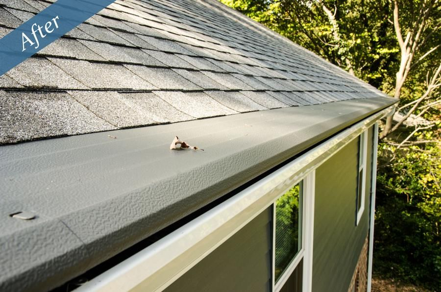 If Your Home Has No Gutters Or Broken Or Clogged Gutters You Re Taking A Risk With The Safety And Value Of Your Ho How To Install Gutters Gutters Installation