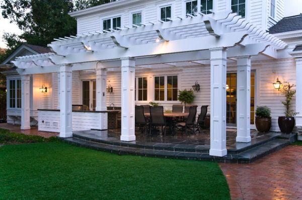 18 Patio Pergola Designs, perfekt für die kommenden Sommertage #patiodesign