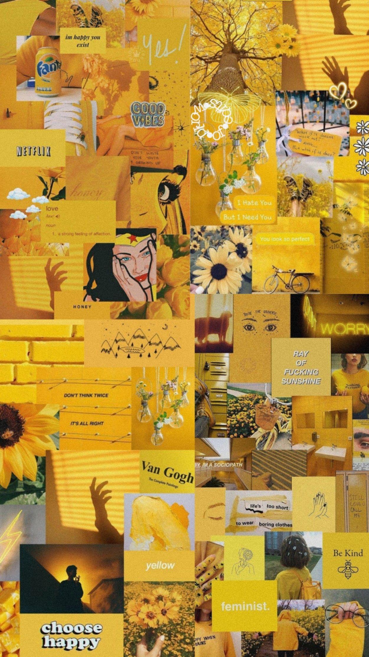 Pin By Lyla Rose On Yellow Iphone Wallpaper Hipster Wallpaper Tumblr Lockscreen Edgy Wallpaper