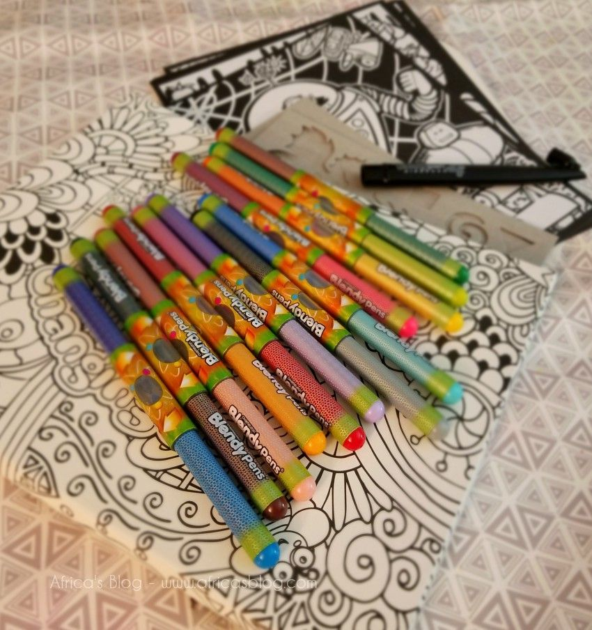 Blendy Pens from Chameleon Kidz – Recreating Creativity & #Giveaway! USA &  CAN (ends 12/15)