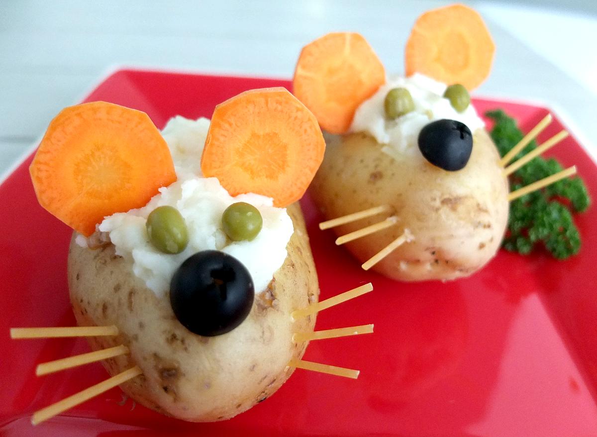 Papa ratones receta guarnici n comida de y econ micas - Platos faciles y baratos ...
