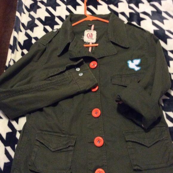 Jacket Army green jacket chor Jackets & Coats