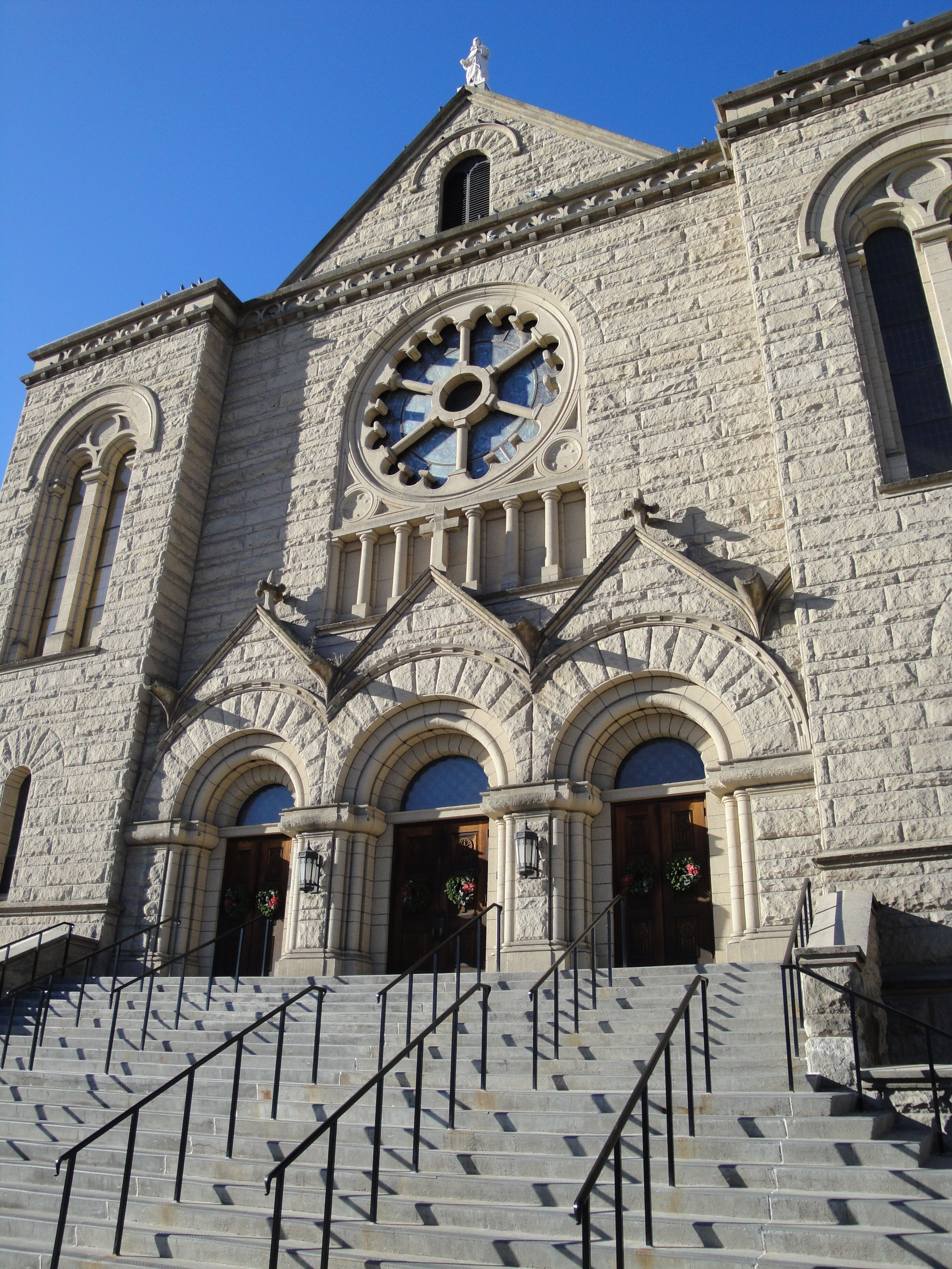 St. John's Cathedral  Boise, Idaho; My Mom's favorite church on her visits