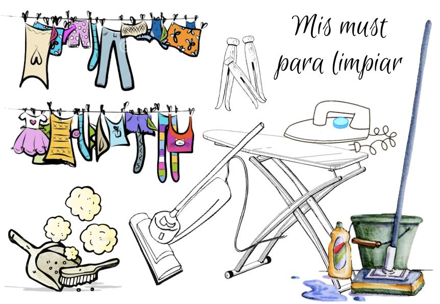 """Mis """"must"""" de limpieza y colada + inspiración para guardar"""