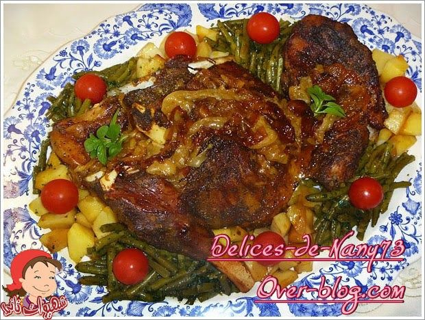 كتف الخروف محمر في الفرن بالأعشاب شهيوات ناني Middle Eastern Recipes International Recipes Recipes