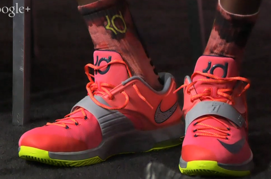 VIDEO Kevin Durant Unveils New Commercial For His KD 7 Shoes