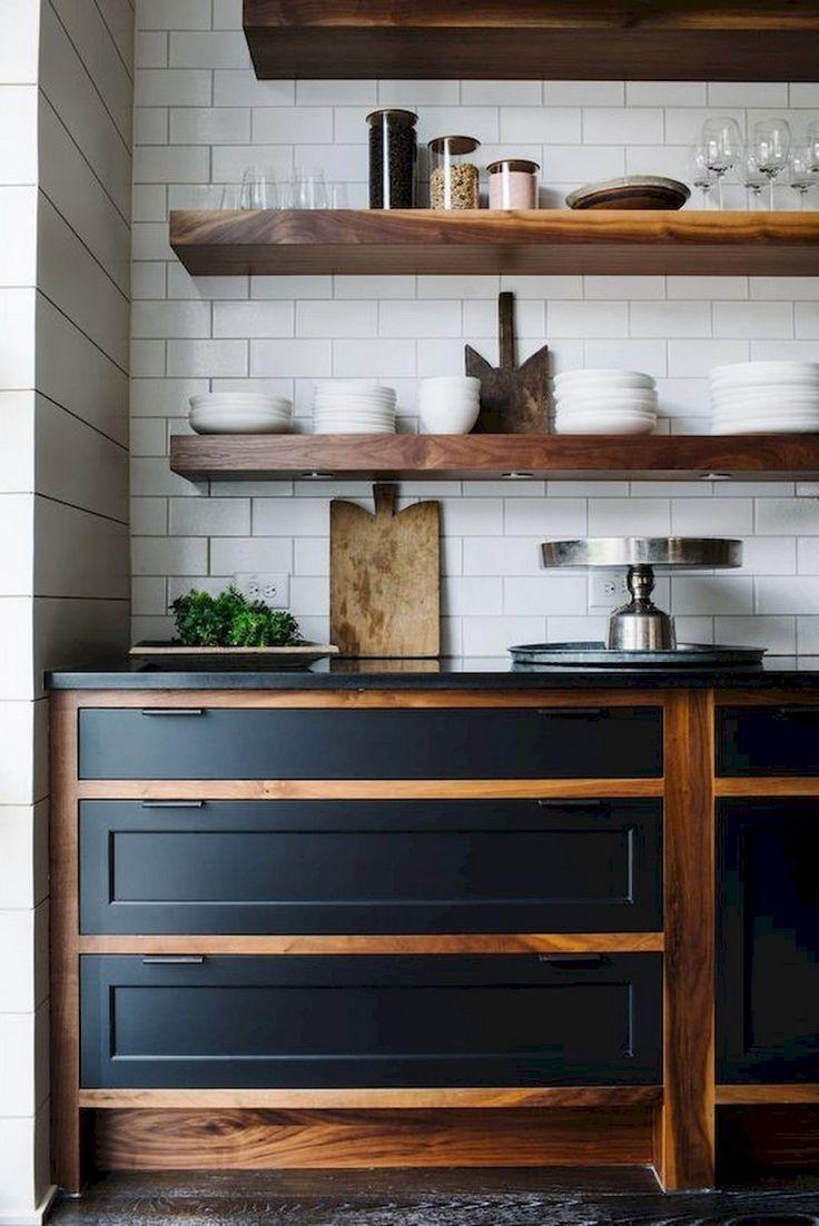 45 Fabulous Apartment Kitchen Rental Decor Ideas #apartment ...