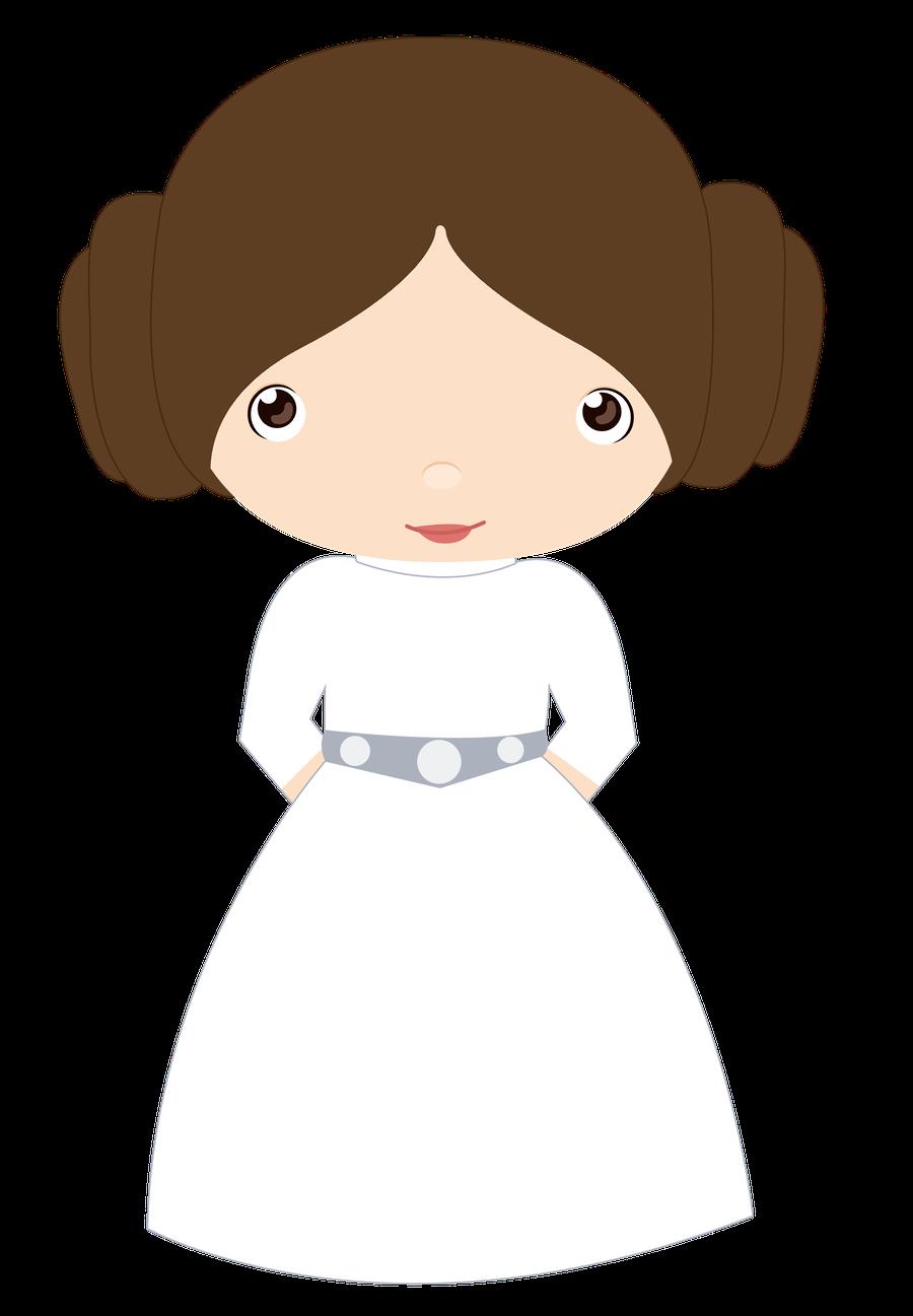 Baby Star Wars Princess Leia Clip Art