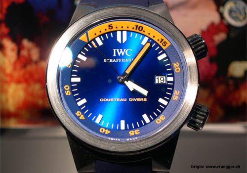 IWC Schaffhausen | Fine Timepieces From Switzerland | Forum | iwc cousteau watches