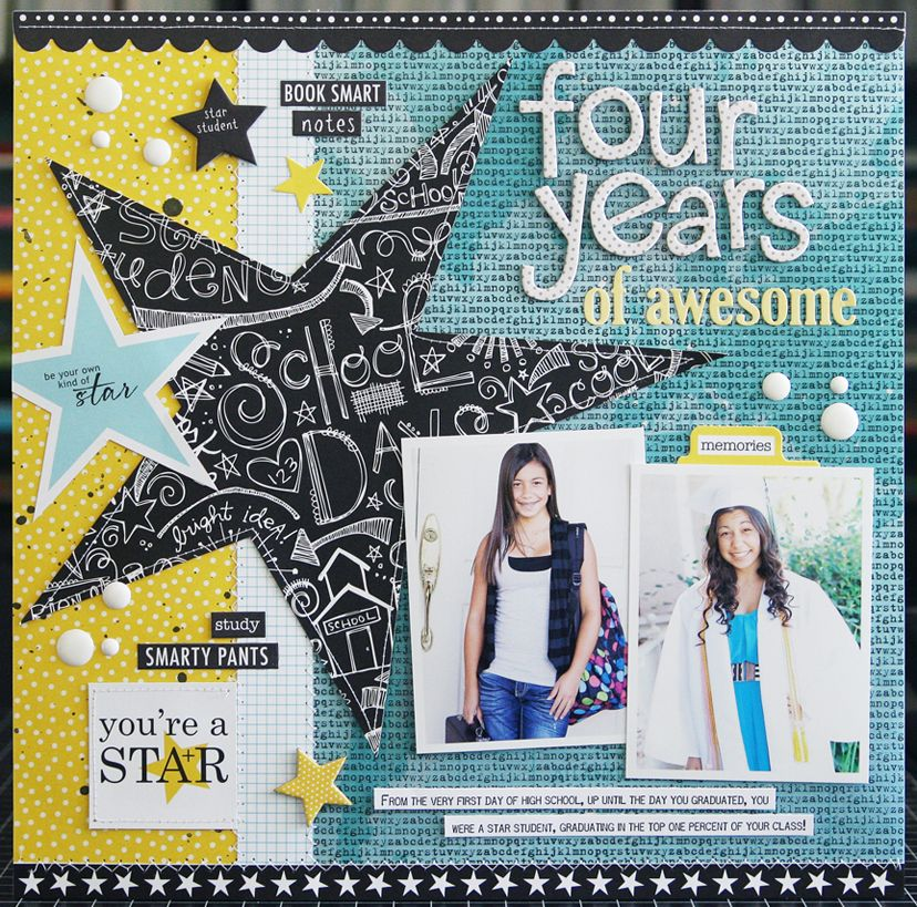 Four Years Of Awesome *Bella Blvd* - Scrapbook.com