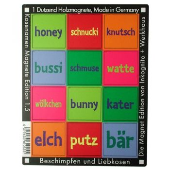 werkhaus shop kosenamen edition 1 5 magnete von werkhaus pinterest. Black Bedroom Furniture Sets. Home Design Ideas