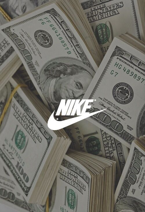 Image via We Heart It  grunge  money  nike   Wallpaper   Pinterest     Image via We Heart It  grunge  money  nike