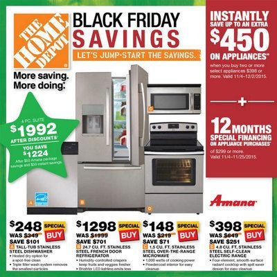 View The Home Depot Appliances Sale 2015 Ad With Home Depot Deals