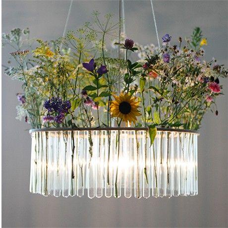 Test tube chandelier by pani jurek monoqi lamps - Outdoor kronleuchter ...