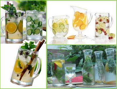 Alimente uma vida mais saudável!: Água Aromatizada: Além de deliciosas e extremamente saudáveis, lindas!
