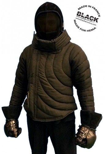 HEMA Jacket by Black | Armor | Historical european martial