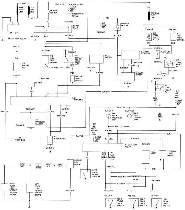 1Kz Engine Ecu Wiring Diagram and Dowloads & Articles - 12 ...