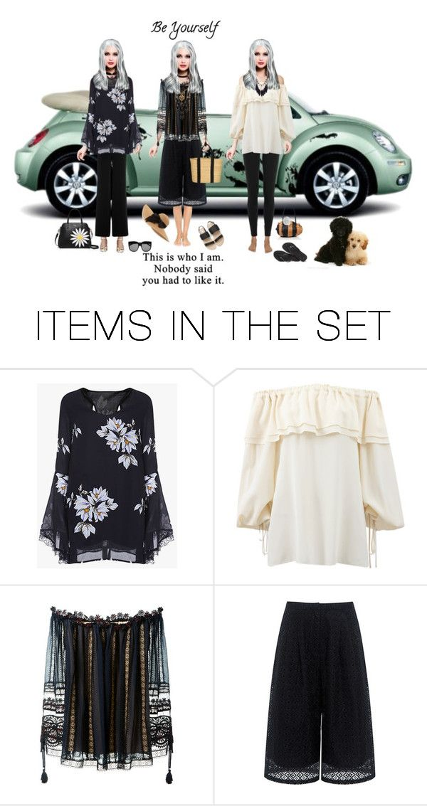 """Be Yourself"" by theonly-queenregina ❤ liked on Polyvore featuring art"