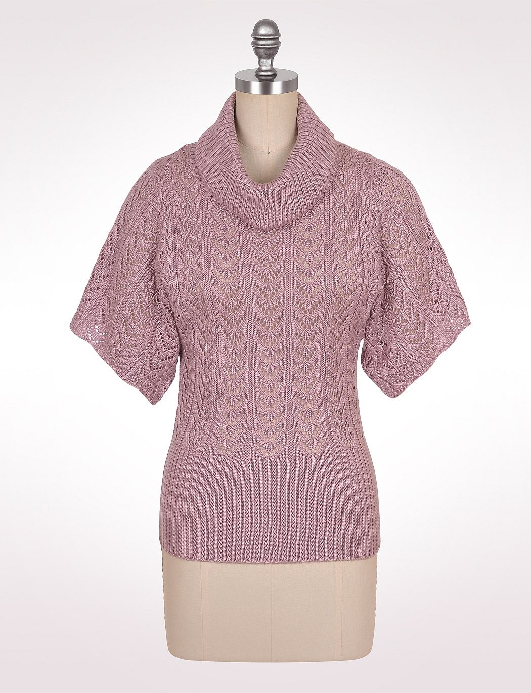 Misses | Sweaters | Cardigans & Shrugs | Pointelle Cowlneck ...