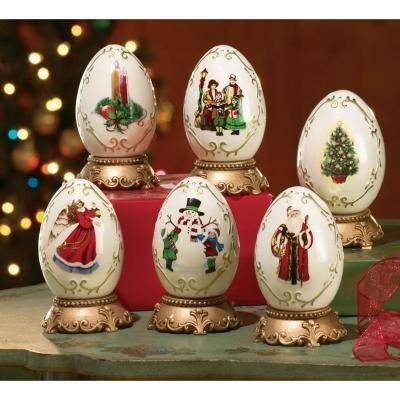 huevos de navidad Huevos increibles Pinterest Huevo, Navidad y - huevos decorados