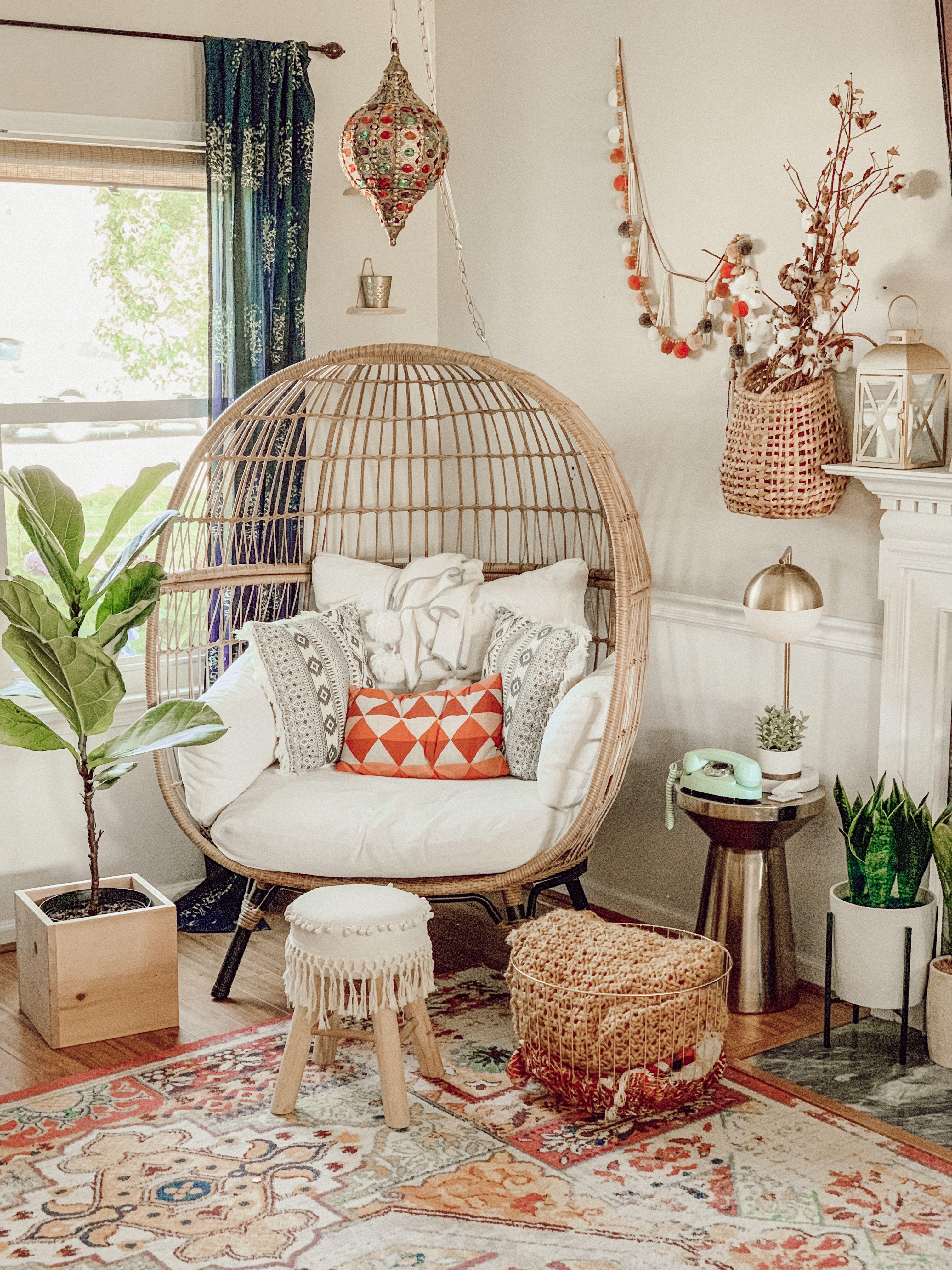 Egg Chair Indoors Apartment Decor Living Decor Home Decor
