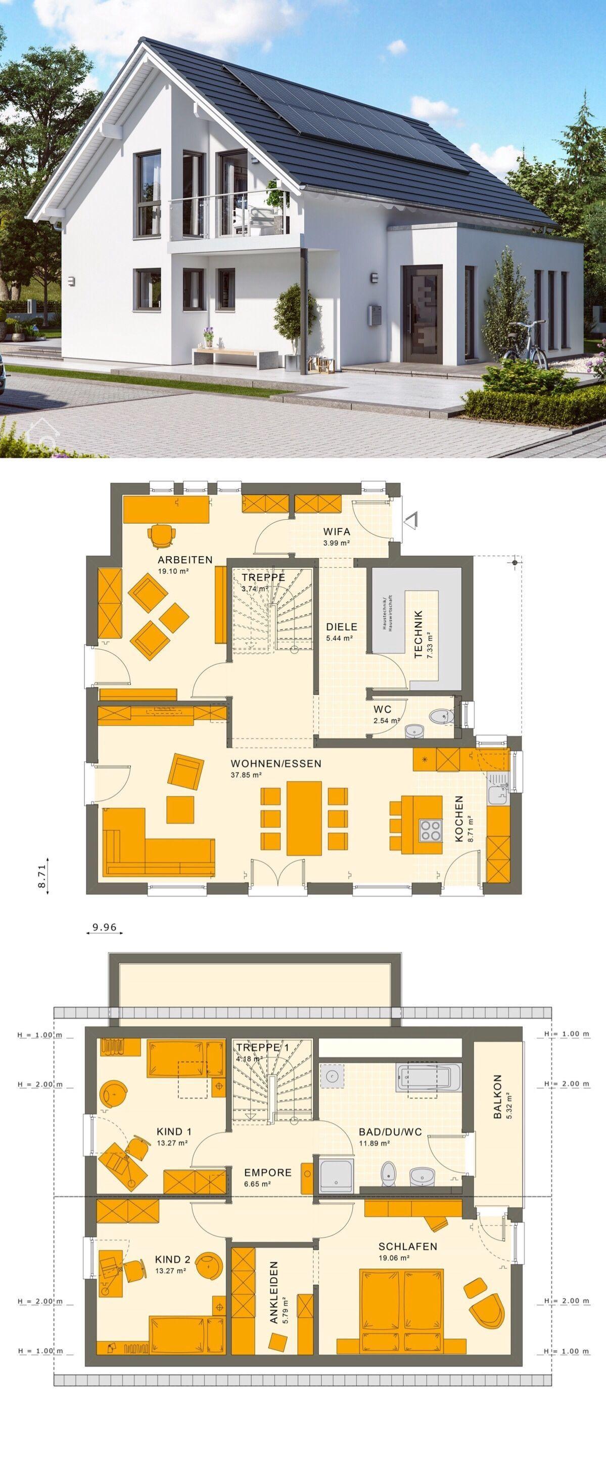 Klassisches Einfamilienhaus SUNSHINE 143 V2