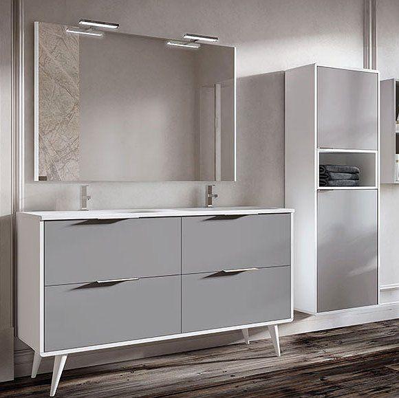 Mueble de baño Campoaras Vintass 4 cajones para lavabo ...