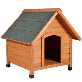 Trixie Natura Pitched Roof Dog House, 33″ L X 34.25″ W X 40″…