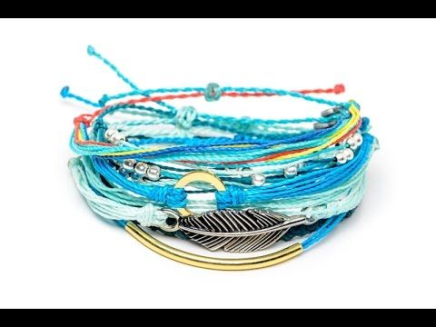 Diy Wax String Friendship Bracelets Tutorial Inspired By Pura Vida You