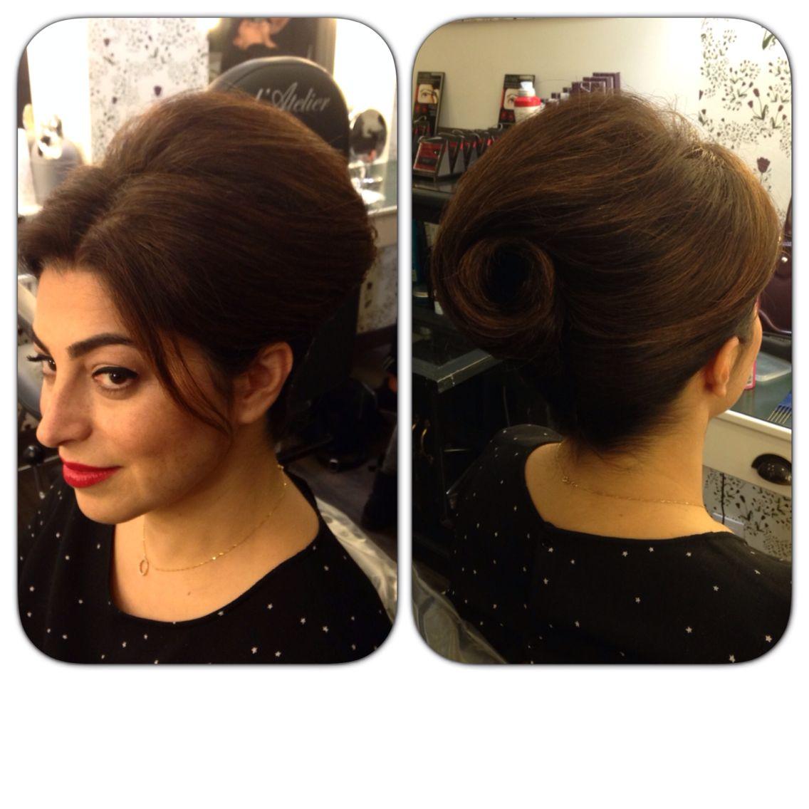 Chignon inspiration ann e 60 hair pinterest chignons - Chignon annee 60 ...
