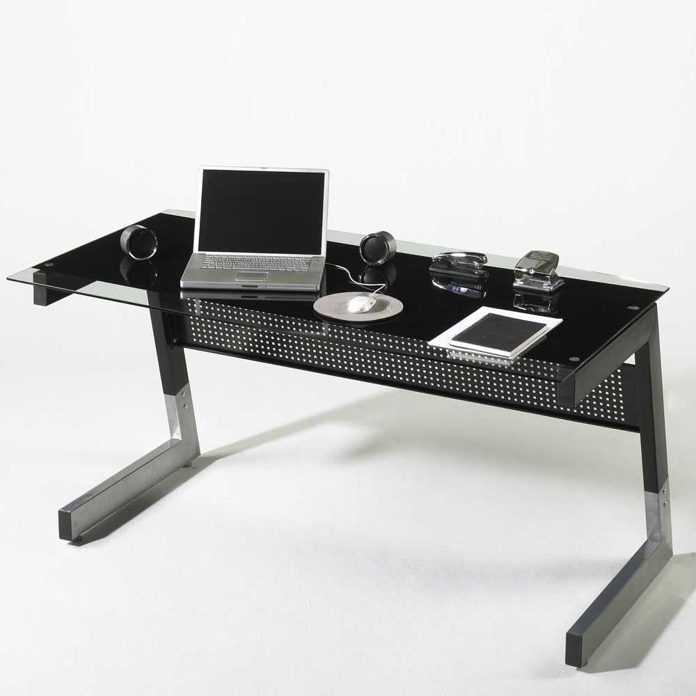 Superior Büro Schreibtisch In Schwarz Glas Jetzt Bestellen Unter: ... Home Design Ideas