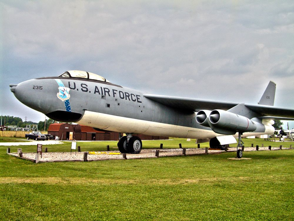 B47 Stratojet, S/N 512315, on display at the Grissom Air