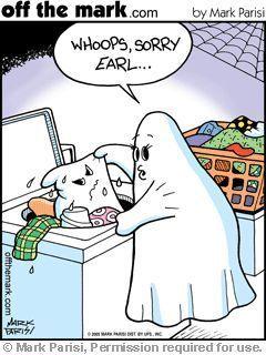 Ghostly Halloween Humor By Mark Parisi Halloween Jokes