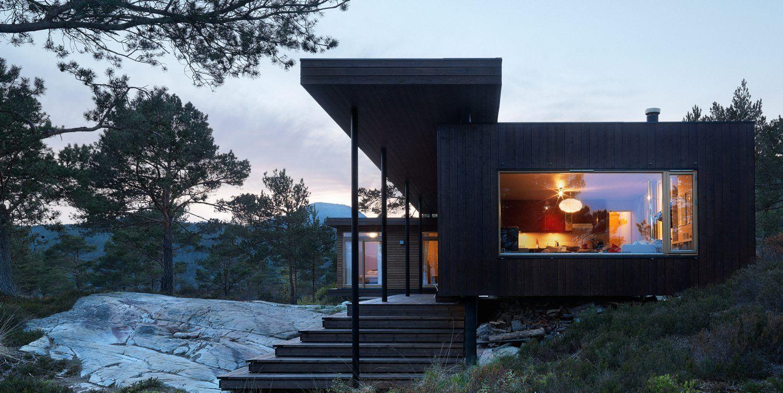 Cool cabin in Sogn og Fjordane- signed Todd Saunders