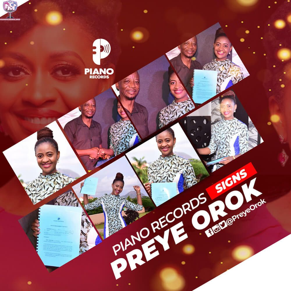 Entertainment News Piano Records Signs Preye Orok Fast Rising Recording Artiste Preye Orok Has Signed A New R Music Business Music Download Daily Devotional