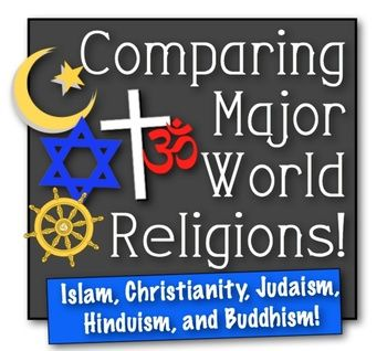 the beliefs in the religions of judaism hinduism and buddhism Concise descriptions of the major world religions including hinduism, judaism, zoroastrianism, buddhism, shinto, confucianism, jainism, taoism, christianity, islam, sikhism and bahai.