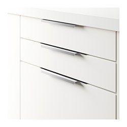 IKEA - BLANKETT, Maniglia, 295 mm, , Con le loro linee semplici ...