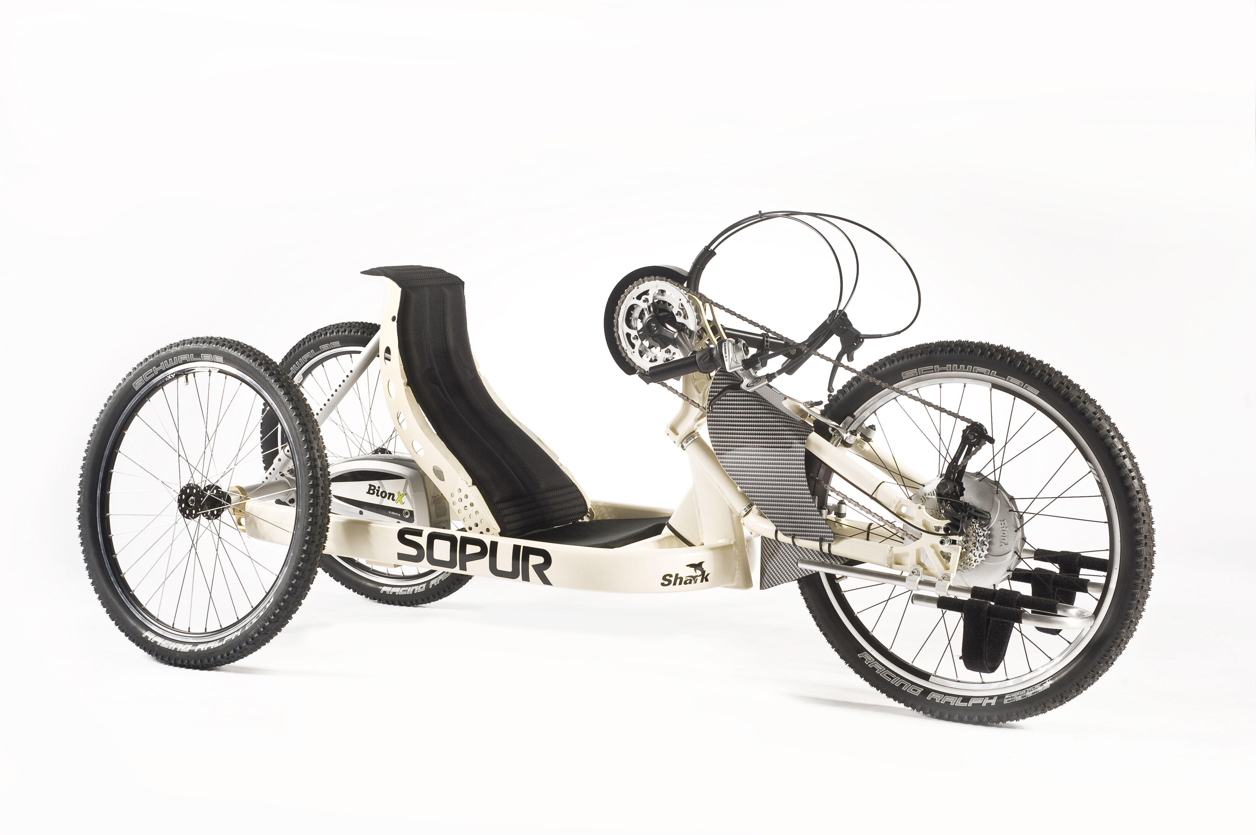 sopur shark offroad sonderbau mit mountainbike bereifung. Black Bedroom Furniture Sets. Home Design Ideas