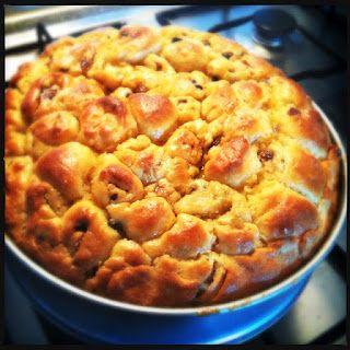 Fiadoe, Surinamese cake, with recipe in Dutch