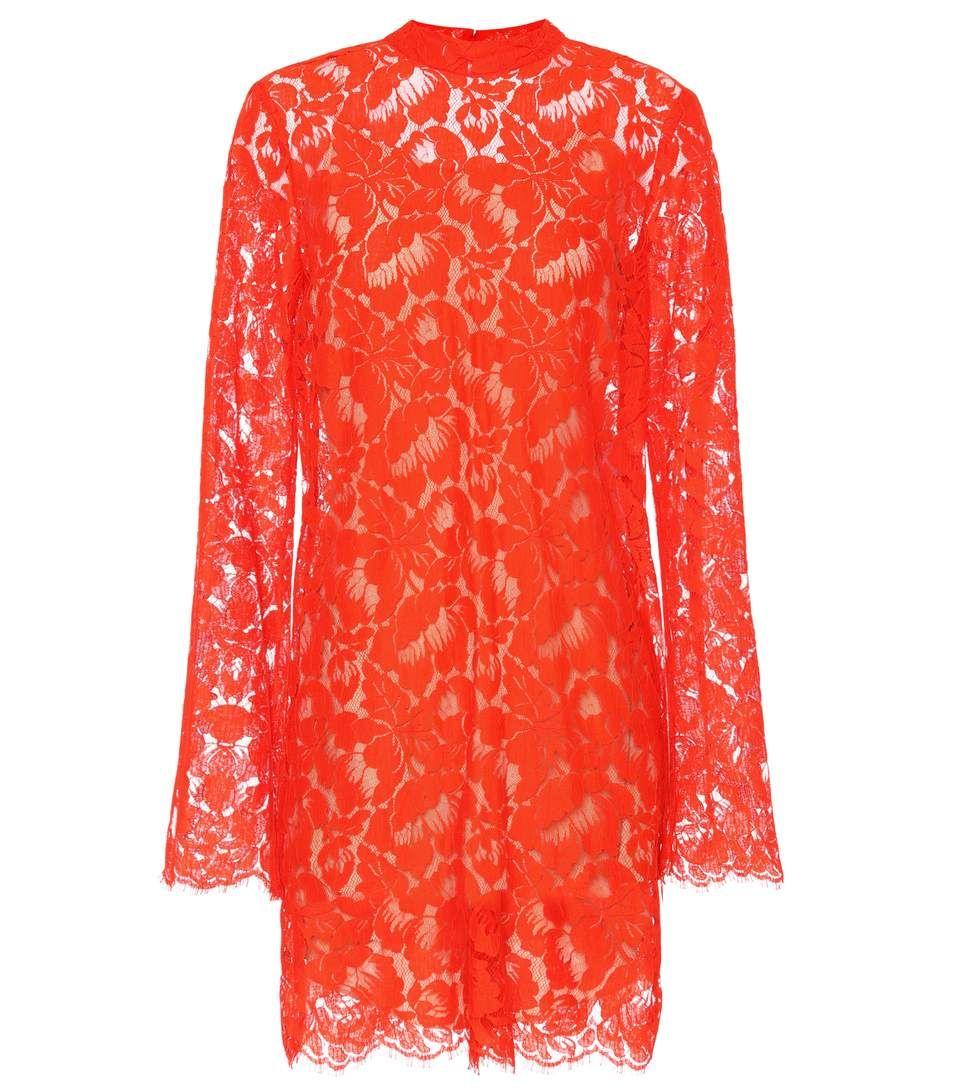 Stella mccartney cayla lace cottonblend dress dresses pinterest