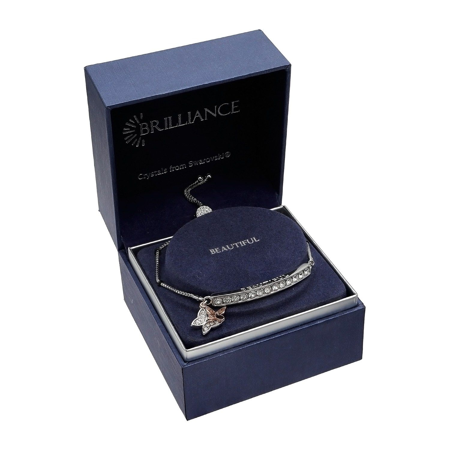 brilliant crystal from swarovski bracelet