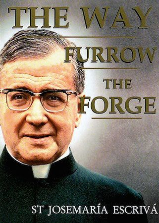 This keepsake book combines St. Josemaría's three beloved collections of spiritual guidance — The Way, Furrow, and The Forge — into one, with an expanded and combined index. This three-in-one edition offers you a starting-point for prayer and for finding Christ in all your life's experiences. It introduces you to St. Josemaría's guiding vision of holiness in everyday life. (http://store.casamaria.org/the-way-furrow-and-the-forge-st-josemaria-escriva/)