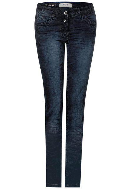 Cecil Loose-fit-Jeans mit leichten Crinkles kaufen #workattire