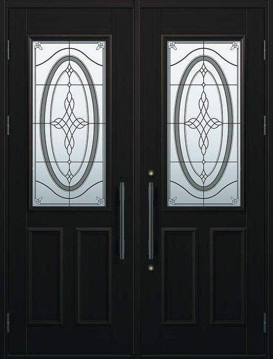 Ykkap玄関玄関ドアプロント Cタイプ 両開きドア高23タイプ U02型 幅1690mm 高2330mm インテリア エクステリア 玄関 玄関 エクステリア